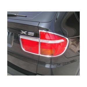 07-13y BMW X5 E70 クローム テールライトリム|verger-autoparts