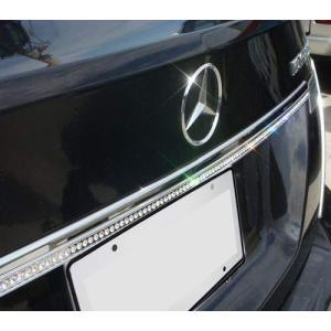 クリスタル トランクリッドモール 07-09y ベンツ Cクラス W204|verger-autoparts