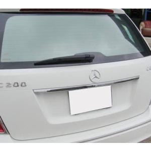 クローム トランクリッドモール ベンツ Cクラス W204 ワゴン|verger-autoparts