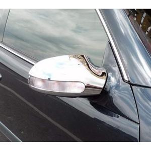 クローム ドアミラーカバー 97-02y BENZ/ベンツ CLKクラス W208|verger-autoparts