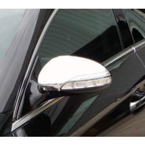 クローム ドアミラーカバー 05‐08y ベンツ CLSクラス W219 前期|verger-autoparts