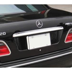 クローム トランクリッドモール 95-02y ベンツ Eクラス W210|verger-autoparts