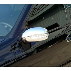 クローム ドアミラーカバー 02-06y ベンツ Eクラス W211 前期|verger-autoparts