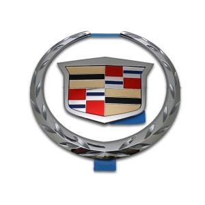 純正グリルエンブレム クレスト&リース キャデラック 02-06y エスカレード 06-11y DTS|verger-autoparts
