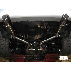 CROSS オールステンレス マフラー 05-10y クライスラー 300C 6.1L SRT8|verger-autoparts