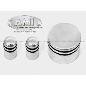 AMI ビレット オーディオノブ Made in USA 02y- ダッジ ダコタ・デュランゴ ジープ ラングラー TJ・グランドチェロキー|verger-autoparts