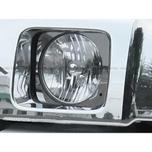 ステンレス 鏡面 ヘッドライトリム HUMMER/ハマー H2|verger-autoparts