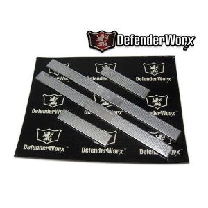 DefenderWorx ビレット ドアシルプレート HUMMER ハマー H2 SUT verger-autoparts