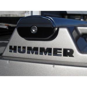 ステンレス クロスバー レターロゴ HUMMER/ハマー H2 verger-autoparts