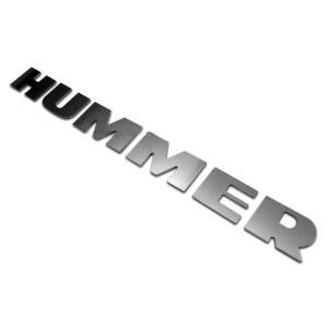 ステンレス クロスバー レターロゴ HUMMER/ハマー H2 verger-autoparts 03