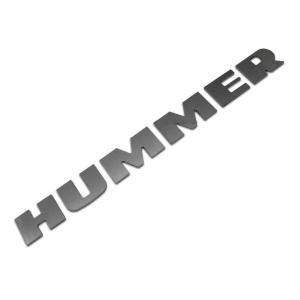 ステンレス クロスバー レターロゴ HUMMER/ハマー H2 verger-autoparts 04