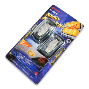 6LED 汎用サイドマーカー MYCARR SJ-662E 12V専用|verger-autoparts|04