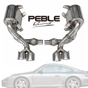 ポルシェ911 カレラ/S/4S 997 前期 PEBLE Racing RSマフラー|verger-autoparts