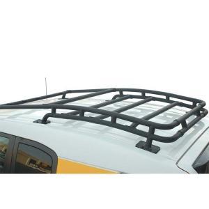 ブラック ルーフキャリア ルーフラック 07y- トヨタ FJクルーザー|verger-autoparts