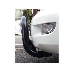 02-09Y トヨタ・ランドクルーザープラド120系 ブラック ブルバー グリルガード|verger-autoparts|02
