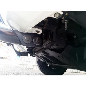02-09Y トヨタ・ランドクルーザープラド120系 ブラック ブルバー グリルガード|verger-autoparts|03
