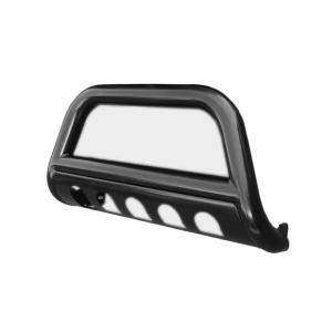 02-09Y トヨタ・ランドクルーザープラド120系 ブラック ブルバー グリルガード|verger-autoparts|05