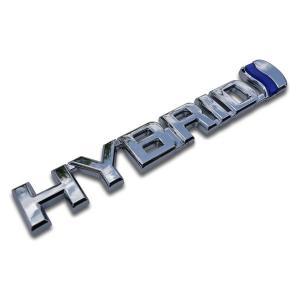 ハイブリッド HYBRID エンブレム ブルー verger-autoparts 02