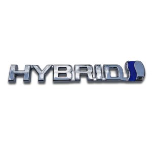 ハイブリッド HYBRID エンブレム ブルー verger-autoparts 03