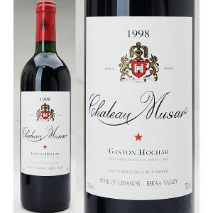 1998 シャトー・ミュザール レッド  750ml -液面低め・ラベル汚れ等-赤ワイン【コク辛口】^LAMU0198^|veritas