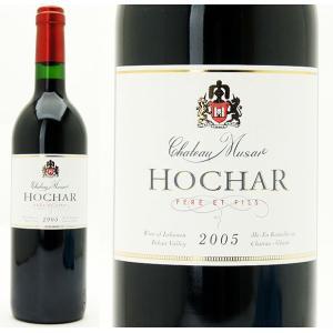 2005 オシャール・ペール・エ・フィス レッド (シャトー・ミュザール)  750ml 赤ワイン【コク辛口】^LAMU21A5^|veritas