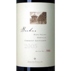 2005 ジョセフ・フェルプス バッカス ヴィンヤード カベルネ・ソーヴィニヨン 750ml(ナパ・ヴァレー)赤ワイン【コク辛口】^QAJPBCA5^ veritas