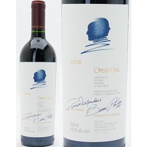 【6本ご購入で木箱付き】【送料無料】2008 オーパス・ワン 750ml 赤ワイン【コク辛口】^QARM01A8^|veritas