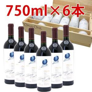 (6本木箱入りセット 送料無料)オーパスワン 2011 750ml×6本 赤ワイン(コク辛口)^QARM01K1^|veritas