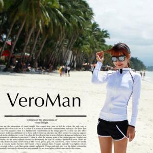 ■ブランド  VEROMAN   ■素材  ナイロン100%  ■特徴 VEROMANのラッシュガー...