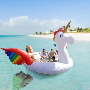 ■ブランド VeroMan  ■素材 PVC: 100%  ■特徴 全長約5mの6人が乗れるユニコー...