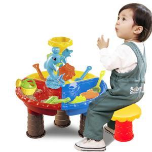 砂遊び セット 子供 おもちゃ サンドボックス サンドテーブル 型抜きセット 室内 アウトドア VeroManの画像