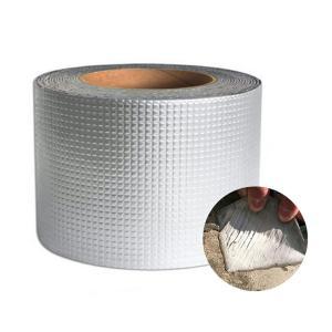 [10cm×5M] VeroMan 貼るだけで防水 超強力 補修テープ ブチルテープ 粘着テープ ダ...