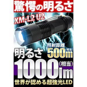 手のひらサイズ小型LEDライト 超高輝度スーパーLED ズーム機能搭載、高性能ライトです。 また、自...