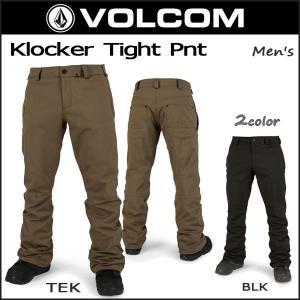 スノボ ウエア メンズ パンツ VOLCOM Klocker...