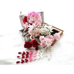 バラと桜の和・洋パーツセット(16パーツ):HA015|vertpalette-store