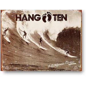 カリフォルニアクラシック サーフィン系 ハンテン レトロシリーズ アメリカンブリキ看板 アメリカ 雑貨 アメリカン雑貨|veryberry