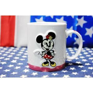 ミニーマウス マグカップ 陶器製 ディズニー|veryberry