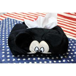 ミッキーマウス&ミニーマウス ティッシュケースカバー もこも...