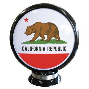 カリフォルニア州のフラッグ柄 ガスランプ ガソライト型 アメリカン雑貨|veryberry