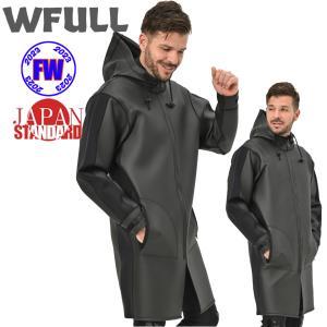 ボートコート ウェットコート 2mm 2020モデルWFULL WETCOAT フードジャケット ウエットコート マリンコート ジャケット スキン メンズ レディース 2ミリ 防寒|verygood