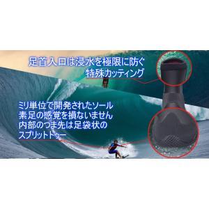 サーフブーツ AND NEW YOU 4ミリ ...の詳細画像4