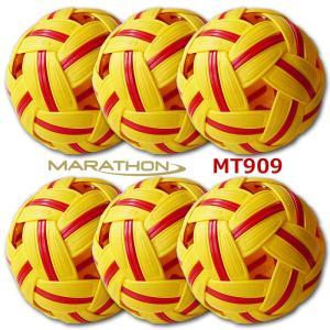 【お買い得】 セパタクローボール Marathon社製 MT. 909 女子用 6個セット