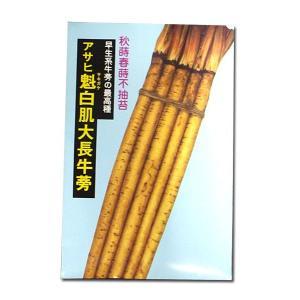 野菜の種/種子 魁白肌大長牛蒡・ごぼう 10ml (メール便可能)|vg-harada