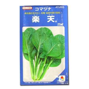 野菜の種/種子 楽天・コマツナ 小松菜 こまつ菜 20ml (メール便可能)タキイ種苗|vg-harada