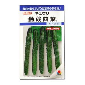 野菜の種/種子 鈴成四葉・キュウリ 25粒(メール便発送)タキイ種苗|vg-harada