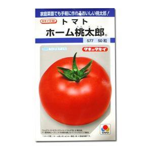 野菜の種/種子 ホーム桃太郎・トマト 50粒 (メール便可能)タキイ種苗|vg-harada