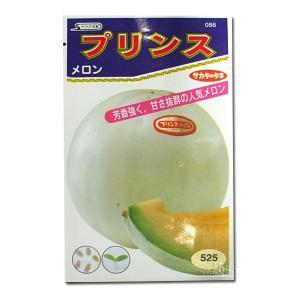 野菜の種/種子 プリンス・メロン 10粒 (メール便可能)サカタのタネ|vg-harada