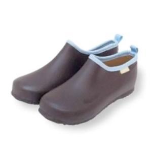 ワーク&ステップ シューズ(チョコブラウン/37[23.5cm]と38[24cm]の2サイズ) ガーデニング・シューズ|vg-harada