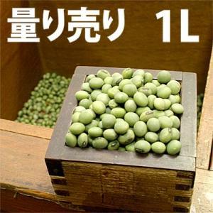 野菜の種/種子 青ばた・えだまめ 量り売り1L  (大袋)|vg-harada