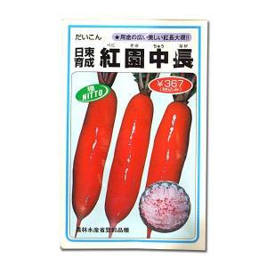 野菜の種/種子 紅園中長・だいこん 6ml (メール便可能)|vg-harada